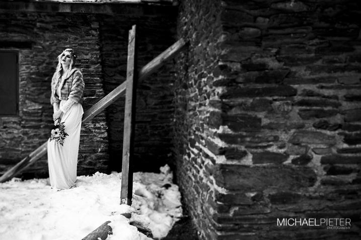 Sesion editorial en la nieve Michael PIeter