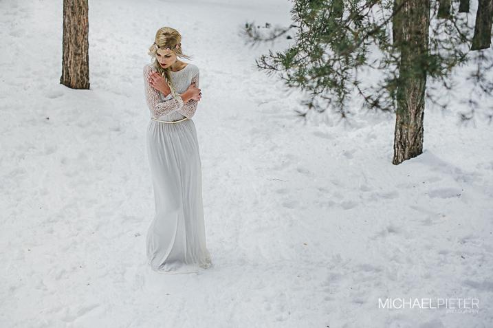 sesin editorial inspiracin en la nieve