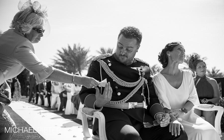 Uniforme de boda Guardia Civil