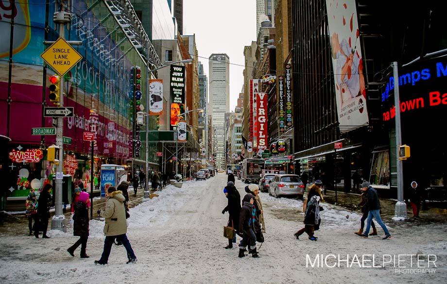 Postboda en Nueva York