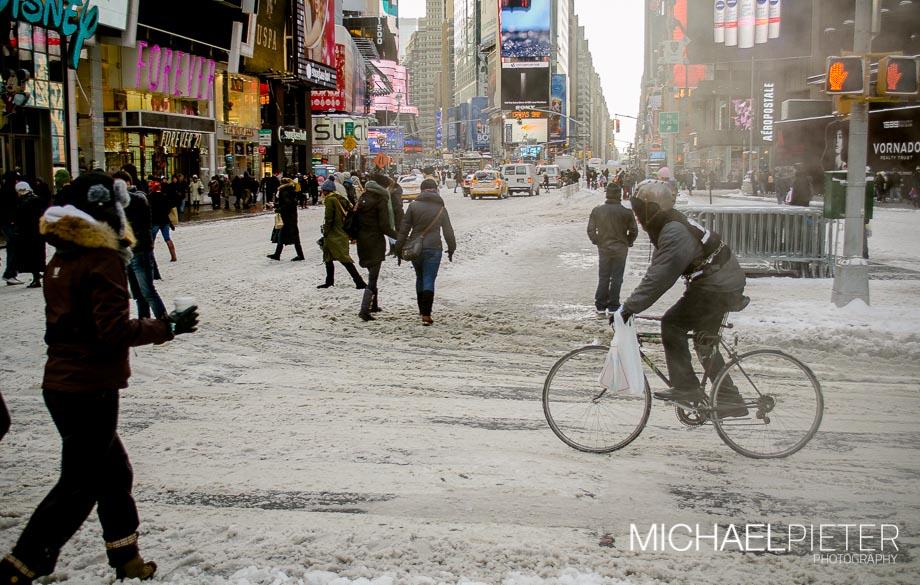 Nueva York Cubierta de Nieve