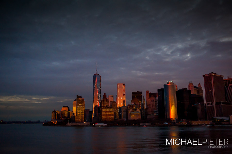 Sky Line of nyc